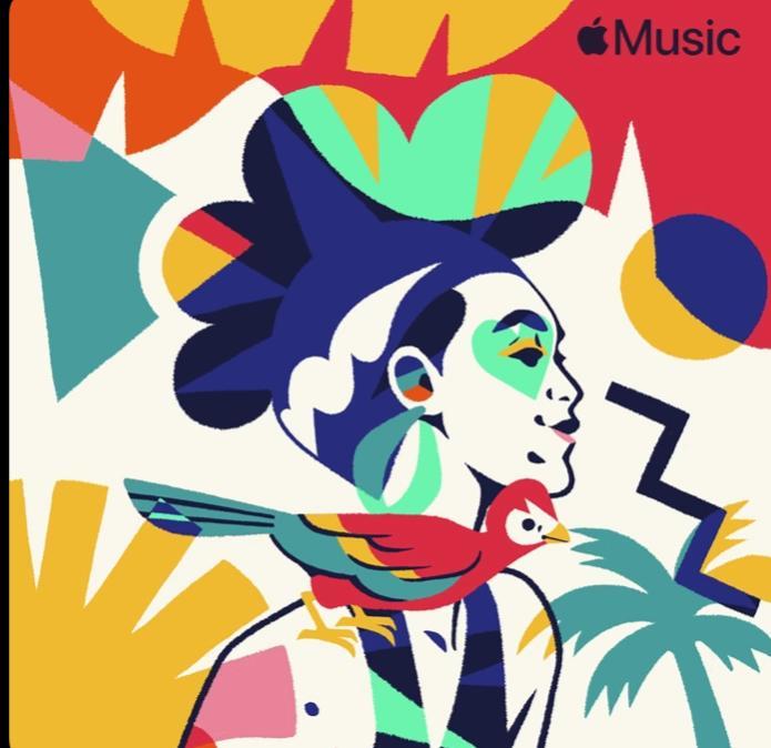 Capa oficial da Playlist Dança Comigo da Apple Music